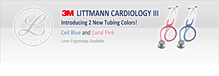 Littmann Cardiology III Stethoscope Colors