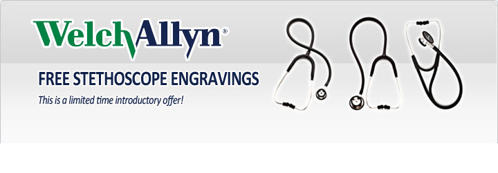 Welch Allyn Stethoscope Engravings